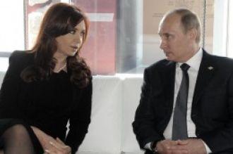 La Presidenta cerrará en Rusia acuerdos para el sector petrolero