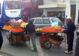Tucumán no tiene vendedores ambulantes
