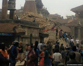 Más de 4.000 muertos en Nepal por terremoto de magnitud 7,8