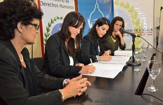 Nación y Provincia firmaron un convenio para desarrollar ejes contra la violencia de género
