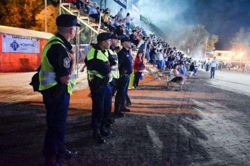 Treinta mil asistentes, detenidos, robos y conductores alcoholizados