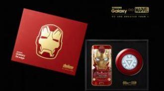 """Samsung lanza una versión """"Iron Man"""" del Galaxy S6 Edge"""