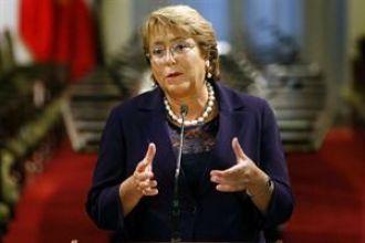 Michelle Bachelet promulgó la primera ley de la reforma educativa