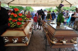 En un emotivo funeral, familiares despidieron a Miss Honduras