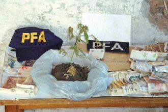 Secuestran $150 mil de la venta de drogas en La Banda