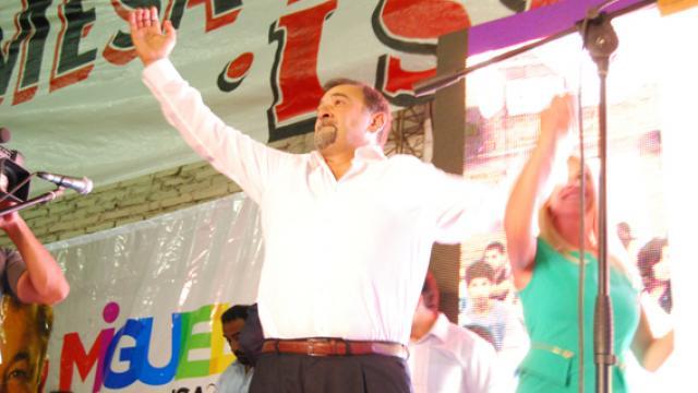Isa lanzó su candidatura a Gobernador en Capital