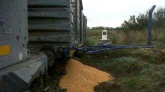 Santiago del Estero: Saquearon un tren carguero y robaron 50 toneladas de maíz